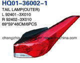 Car Tail Lamp for Hyundai Elantra/Avante USA 2011-2013 OEM#92401-3X010/92402-3X010/92403-3X010/92404-3X010