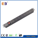 8 Way / 8 Outlet PDU with Switch for 19′′ Server Cabinet Rack
