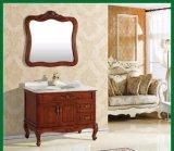 Reclaimed Wood Furniture 2 Drawers Oak Wooden Bathroom Cabinet