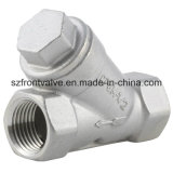 Investment Casting/Precision Casting Stainless Steel Screwed Y-Strainer