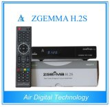 with Original Software Support Zgemma H. 2s with Two DVB-S2 Tuner