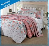 Flowers and Leafs Printed Polyester Duvet Cover Bedding