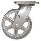 Xiangtan Factory Cast Iron/Semi-Steel Wheel Swivel Rigid Caster