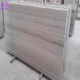 Natural Crystal Wooden White Marble Slabs for Building Material