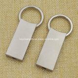 Custom Rectangle Zinc Alloy Metal Key Chain