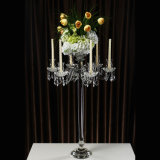 Wholesale Crystal Candle Holder with Cheaper Price