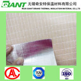 Fireproof Insulation, Heat Sealing Aluminum Foil Facing on Rock Wool, Glass Wool, Mineral Wool for Duct Wrap Material