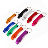 Multifunctional Portable Bottle Opener Keychain Customized Logo Promotion Gift