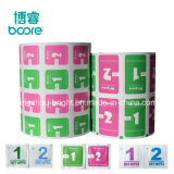 Cheapest Price Aluminum Foil Packaging Paper Roll for Alcohol Prep Pad 70% Isopropyl Alcohol