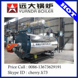 Compact stracture WNS horizontal steam boiler gas fuel boiler