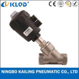 "1"" Stainless Steel Angle Seat Valve for Steam Water Kljzf"