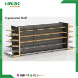 Grocery Plain Back Panel Standard Supermarket Shelves Gondola Shelf