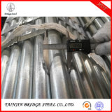 Wholesale Round Section Shape Galvanized Steel Pipe Hollow ERW Carbon Gi Pipe