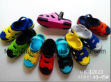 Men Garden Shoes EVA Clogs Leisure Beach Slippers (FFGS-04)