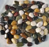 Decorative River Rock Multicolored Polished Stones Natural Polished Mixed Color Wholesale White Pebblespebbles