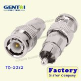 BNC Male to RCA Male Connector Adapter