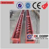 Screw Conveyor for Ceramic Sand Production Line From China