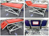 Medical Electric Hospital Treatment Table, Massage Table with Gas Spring Back Control