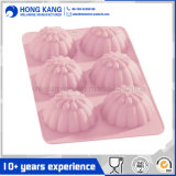 6 Cells Flower Shaped Silicone Rubber Cake Mould (RS29)