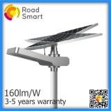 All-in-One Intelligent Solar Street Light 40W Pathway Light Factory