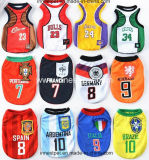 Pet Products Sports 100%Polyester Tshirt Football Basketball Team Dog Clothes