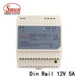 2 Year Warranty 60W 12V 5A DIN-Rail Power Supply PSU