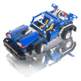 Plastic Kids RC Car Interactive Educational Building Block Toy