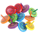 OEM Hot Sale Wooden Spinning Top Toy