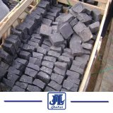 Chinese Cheap Natural Black Basalt Cubestone/Cobblestone/Paver Stone for Outside Door Project