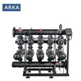 "4"" 5 Unit Automatic Self Cleaning Disc Filter System for Agriculture Drip Irrigation Equipment"