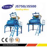 Js500 Twin Shaft Compulsory Concrete Mixer for Block Production