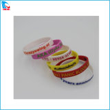 Price of Custom Colorful Silicone Bracelet for Promotion
