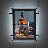 LED Backlit Acrylic Display Box Hanging LED Display Photo Frame