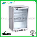 Stainless Steel Back Bar Beer Display Cooler for Beverage & Beer