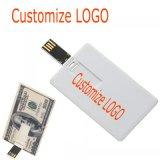 Plastic PVC Credit Card USB Flash Drive USB 2.0