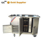 Thr-FC001 Electric Stainless Steel Mobile Food Cart