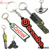2019 Factory Wholesale Custom Promotion Mini Soft Rubber PVC Car Keychain