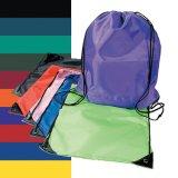 Cheap Custom Wholesale Promotion Canvas Cotton Drawstring Bag, Waterproof Mini Nylon Polyester Drawstring Laundry Bag, Non Woven School Sport Backpack Gift Bag