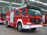 China Fire Truck with Foam and Water for 4X2 Driving Type