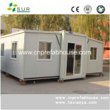 Three Spaces in One with Low Cost Prefab Container House