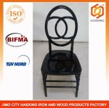 Polycarbonate Resin Double C Infiniti Chair in Black Color