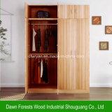 Bedroom Furniture Melamine Panel Wardrobe Cabinet