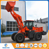 China Mini Pay Loder 2.5 Ton Whell Loader with Many Attachments