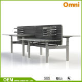 New Height Adjustable Table with Workstaton (OM-AD-053)