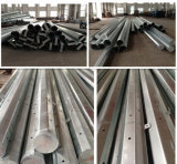 China Manufactured Galvanized Electric Steel Pole