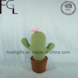 Popular Design Gift Green Textile Cactus Stuffed Plush Toys