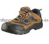 Sport Work Shoes Safety Jogger Style Suede Leather Safety Shoes with Steel Toe