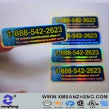 Custom Clear Holographic Permanent Heat Resistant Full Color Laser Labels