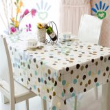Printed Tablecloth with Nonwoven Material