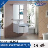 Modern Home Hotel Ceramic Basin PVC Bathroom Furniture